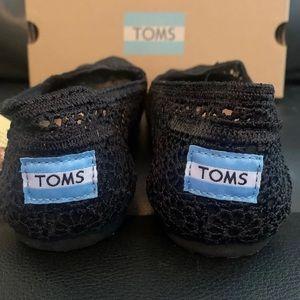 Toms Shoes - Toms Apalgata Black Moroccan Crochet Espadrilles